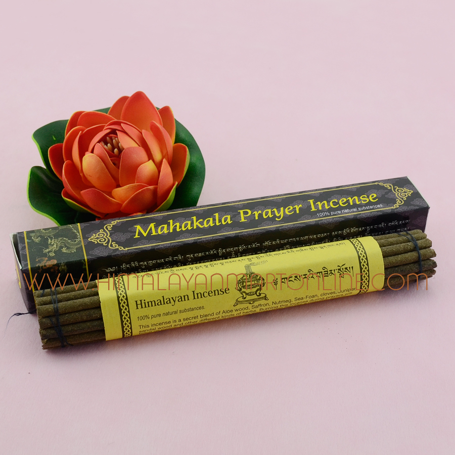 Mahakala Handmade Tibetan Buddhist Prayer Natural Herbal Incense